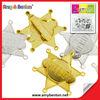 Wholesale Plastic Cowboy Toy Badge Children Toys