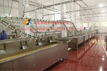 duck slaughter machine/duck plucking machine/duck wax-soaking machine