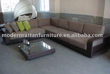 rattan Couch sofa - courtyard Furniture