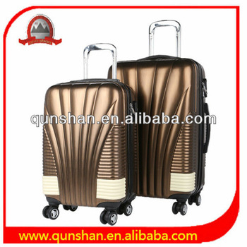 colorful abs luggage,hardshell luggage,abs+pc trolley luggage