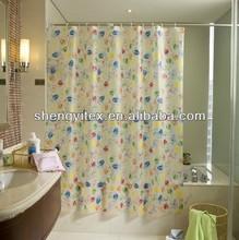 PEVA printing M&M shower curtain/PEVA Bath curtain/Shower room curtain