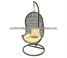 patio hanging swing egg chair - outdoor rattan garden egg chair