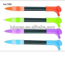 LU-7089 promotional finger shape pen