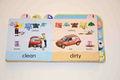 buon senso libri per bambini con indice frutta e auto