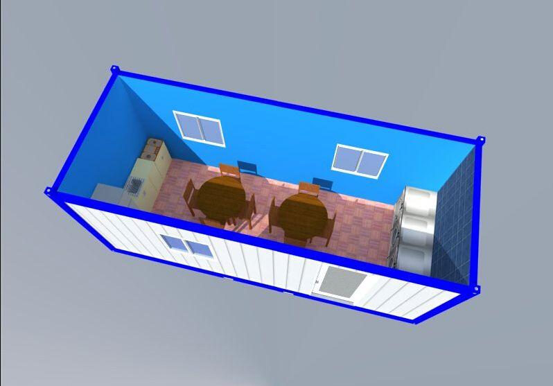 quick build container building