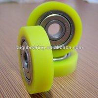 608ZZ Yellow Rubber Coated Bearings