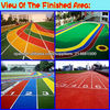 Rubber Flooring Surface/Sports venues/-EPDM granules Crumb rubber epdm (FL-G-Y-021)