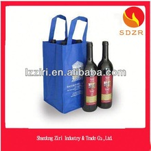 nonwoven wine bottle carrier bag