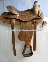 Leather Western Saddle