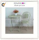 Wrought iron custom made furniture