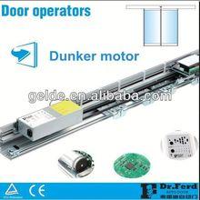 sensor operated automatic sliding door