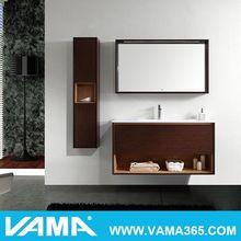 VAMA Melamine Board Wall-Mounted MFC Modern Furniture For Bathroom
