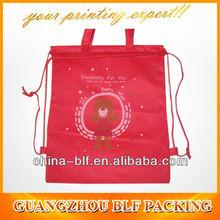 (BLF-NB128)custom printed drawstring shoe bags