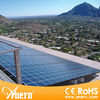 Lower price but high quality 5kw price per watt solar panels for sale