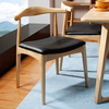 Modern elbow chair wooden chair CH20 chair