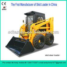 Skid steer loader,Bobcat,skid loader with 60hp diesel engine,loading capacity is 850kg