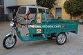 eléctrica transportista de carga triciclo para adultos