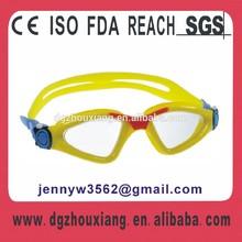 Trendy swim training diving triathlon adult swim goggle, anti fog swim mask water glasses sports goggle7122S
