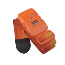 Top quality nylon luggage bag belt with TSA lock