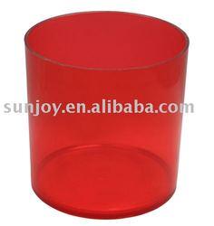Cherry Plastic Cylinder Vase Hydroponics