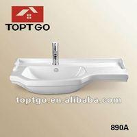 Bathroom Countertops With Built In Sinks Bathroom Sinks Single Sink Bathroom Vanty Tops 890A