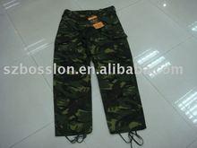 Braizilian military woodland camouflage cargo pants