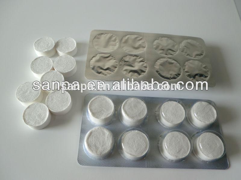 magia comprimido toallita húmeda tablet tejido facial