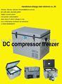 Coche nevera/refrigerador/congelador compresor