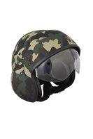 ECE Fiberglass Polit Open Face Helmet BK600