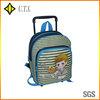 cute kids trolley school bag