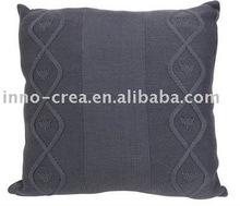 fashion knitted cushion