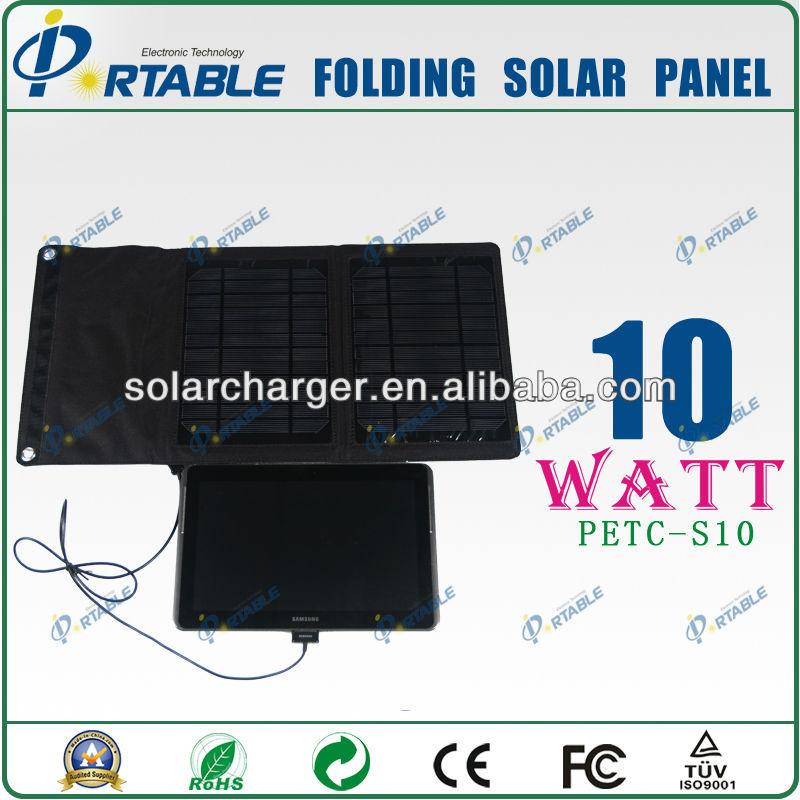 10W Mutifunctional solar bag with custom For Iphone//DV/MP3/MP4/PSP