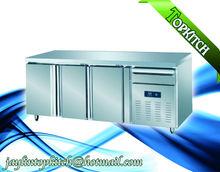 3 Doors Danmark Danfoss Compressor High Density Foam Layer Refrigerator