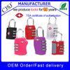 2015 Manufacturer directly wholesale safety tsa combination luggage tsa lock