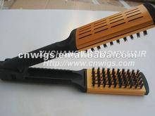 Dark Brown hair brush extension