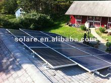 High power poly PV solar module 375W for solar power system
