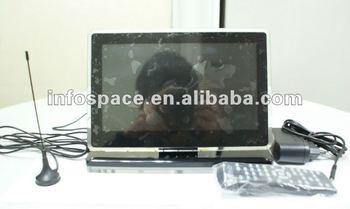 "9"" Digital Photo Frame with ISDB-T/DVB-T/ATSC-M/H TV"