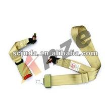 2 Points car safety belt Bus seat belt