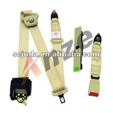 Best quality three-points car safety belts,Adjustable seat belt