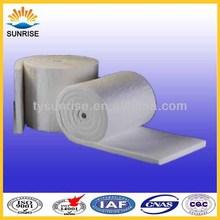 Sunrsie cobertores de fibra cerâmica refratária 1425 grau para forno Material de revestimento
