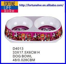 Melamine pets bowl