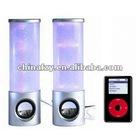 New LED Multimedia Flashing Speaker for computer & MP3 & Phone