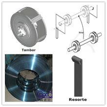 roller shutter door spring steel strip