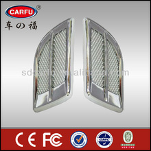 2015 Innovative Car Products,Fashion Universal Plastic+Chrome Car Air Flow Made In China
