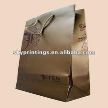 Jefen haute couture saco de papel