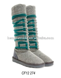 Ladies fashion winter snow boot