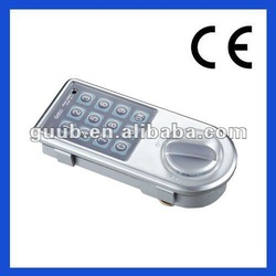 Zinc Alloy electronic digital lock for filling cabinet with CE, FCC certificates