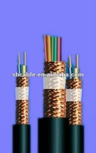 Hot sell Copper conductor PVC insulated and sheathed copper wire braiding screened control cable