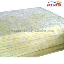 20 mm de lã de vidro de isolamento de alta qualidade lajes