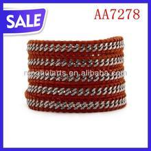 fashion popular wrap beaded Christmas decoration China Manufacturer bracelet